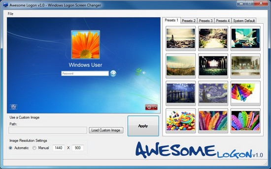 Awesome Logon Changer