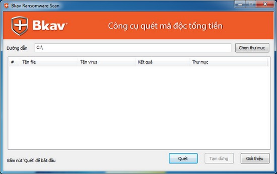 BKAV Ransomware Remover