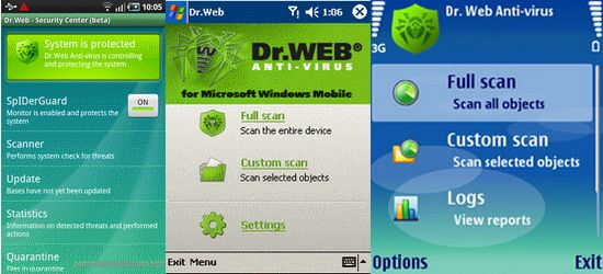 DrWeb Security Suite for Smartphone