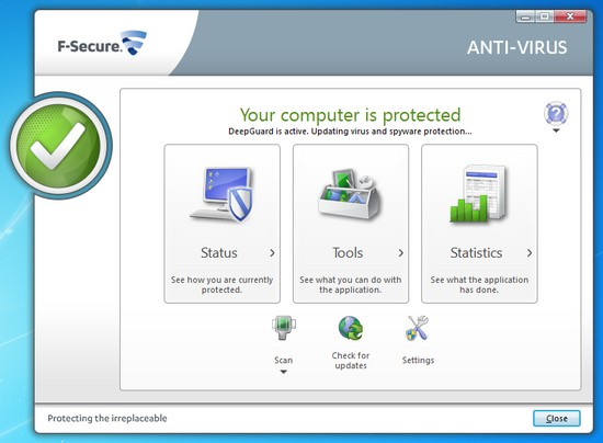 F-Scure Antivirus