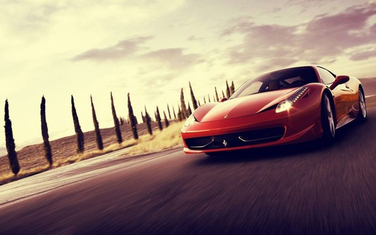 Ferrari 458 Wallpaper Collection