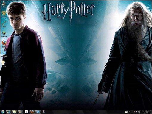 Harry Potter Windows 7 Theme