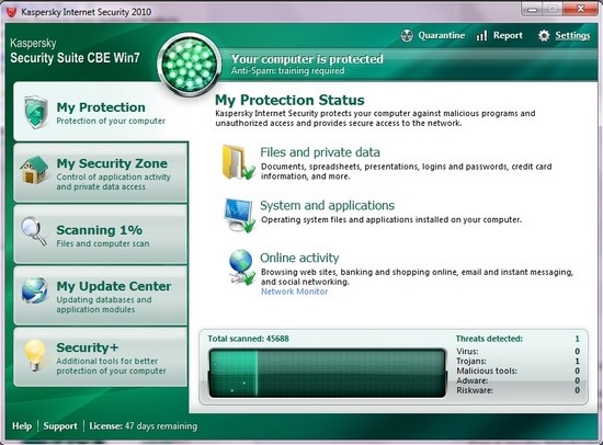 Kaspersky Security Suite CBE Win7