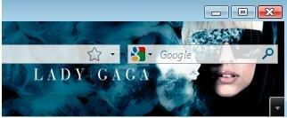 Lady Gaga Firefox Theme