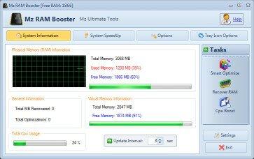 Mz RAM Booster