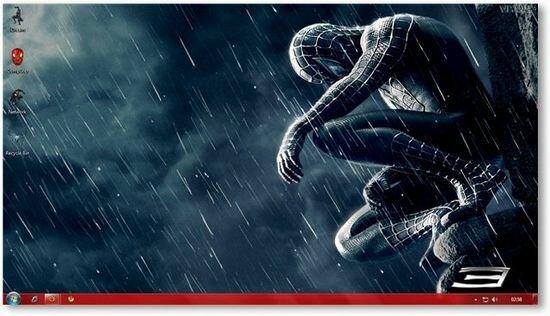 Spiderman Windows Theme