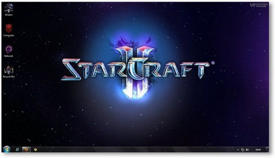 StartCraft Windows 7  Theme
