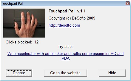 TouchPad Pal