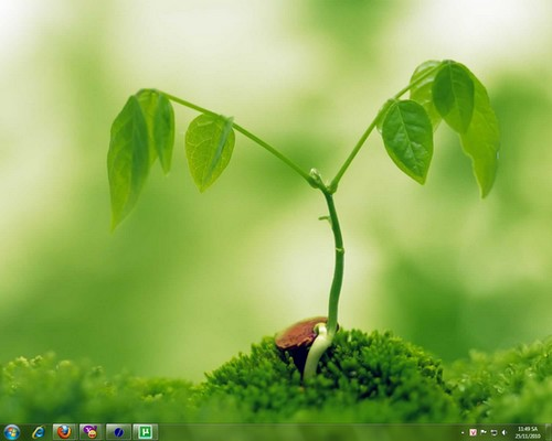 Gree Theme for Windows 7