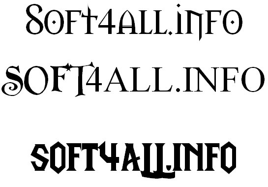 World of Warcraft font colletion