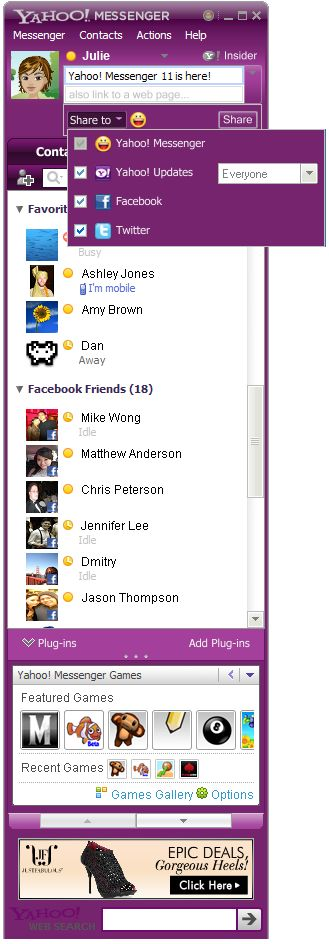 Yahoo! Messenger 11 Final