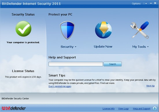 BitDefender Internet Securiy 2011