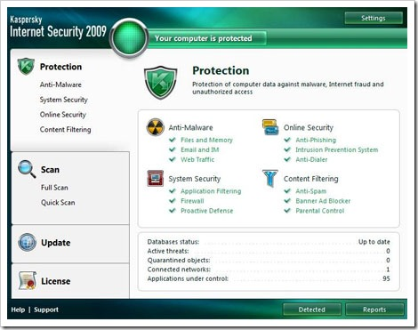 Kaspersky Internet Security 2009