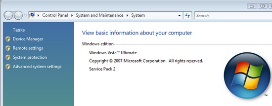 Windows Vista SP2
