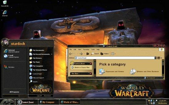 World of Warcraft Theme