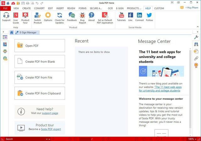 Bản quyền phần mềm chuyển đổi định dạng file PDF